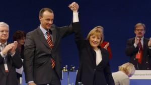 Die Schützengräben von Merkel und Merz