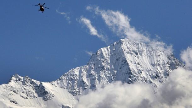 Behörden warnen vor Gletscherabbruch