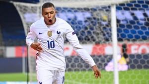 Frankreich genügt ein goldener Moment