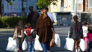 Flüchtlinge stranden in Gießen