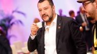 Sieht noch kein Abkommen mit Deutschland: Italiens Innenminister Salvini