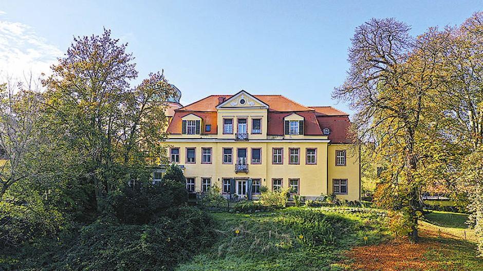 Das Gut Schloss Gundorf in Leipzig