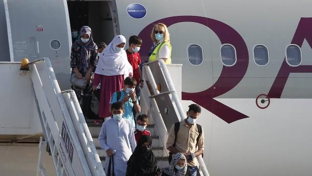 Deutschland will weitere 2600 Afghanen aufnehmen