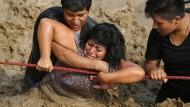 Schwere Überschwemmungen und Erdrutsche verwüsten Peru