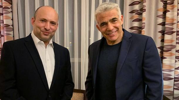Jair Lapid und Naftali Bennett: Ein Duo voller Gegensätze
