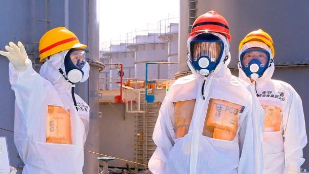 Wasser aus Fukushima wird in den Pazifik geleitet