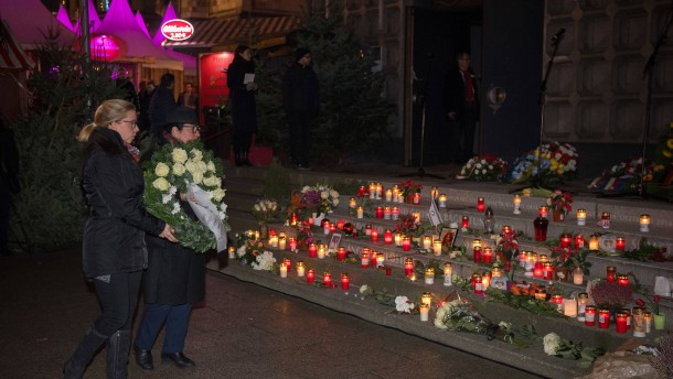 Stille auf dem Berliner Weihnachtsmarkt