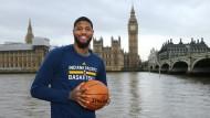 London calling: Paul George von den Indiana Pacers beim Werbeeinsatz