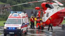 Touristen in Polen tödlich vom Blitz getroffen