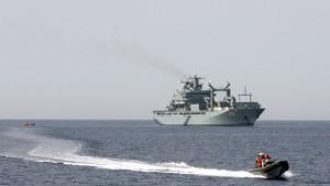 EU bereitet sich auf militärisches Vorgehen gegen Schlepperboote vor