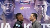 Klitschko vs. Joshua: Kampf vor 90.000 in Wembley