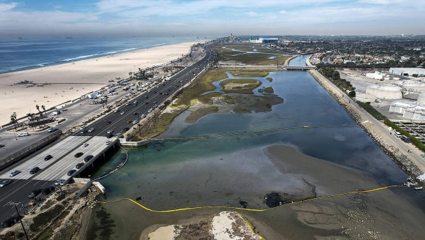 Umweltkatastrophe in Kalifornien