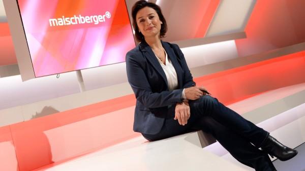 Sandra Maischberger: News der FAZ zur Journalistin