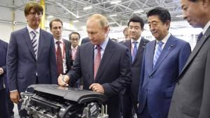 Putin will Russlands Wirtschaft unter Top fünf der Welt bringen