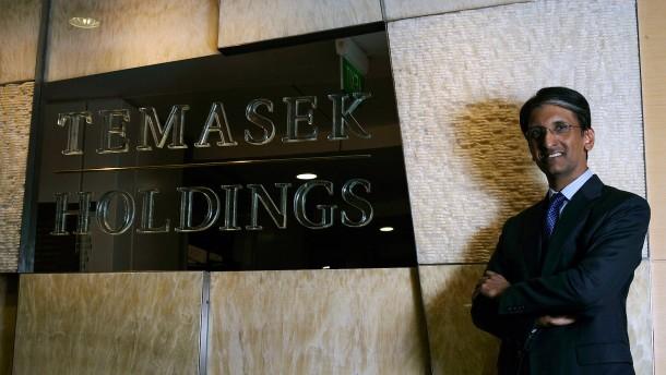 Temasek gibt sich eine neue Führung