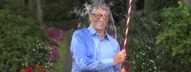Auch bei der Ice Bucket Challenge dabei: Bill Gates