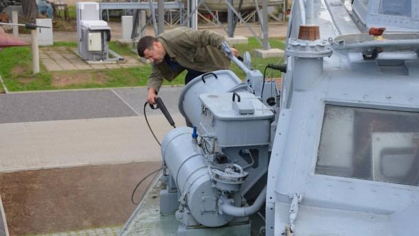 Ostalgie auf dem alten Torpedoboot