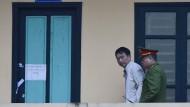 Trinh Xuan Thanh am 22. Januar nach seiner Verurteilung zu einer lebenslangen Haftstrafe in Hanoi