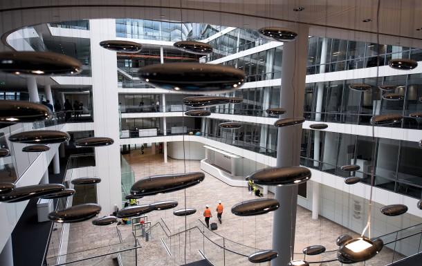 Was Ist Ein Atrium bilderstrecke zu siemens eröffnet neue konzernzentrale in münchen