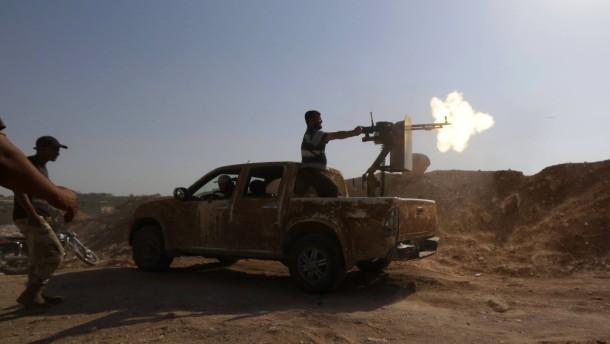 Repräsentantenhaus billigt Bewaffnung syrischer Rebellen