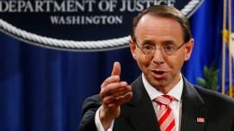 Zwölf russische Geheimdienstler in Amerika angeklagt