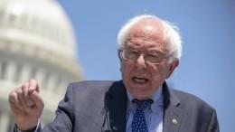 Bernie Sanders will Trump vertreiben