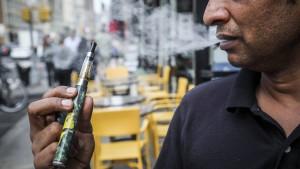 Indien verbietet E-Zigaretten