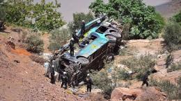 Viele Tote bei Busunfall in Peru