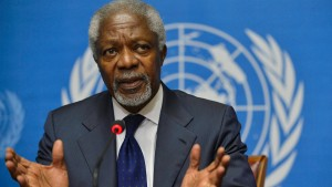 Annan gesteht Scheitern seines Friedensplans ein