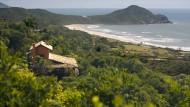 Exklusive Lage: Haus nahe der Praia do Rosa.