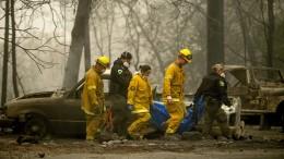 Zahl der Toten in Kalifornien steigt weiter