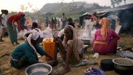 Rohingya sollen in Bangladesch in Lagern bleiben