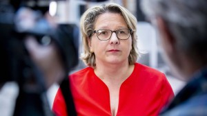 Svenja Schulze, die Verweigerungsministerin