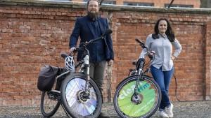 Start-up Bikuh setzt auf Reklame zwischen den Radspeichen