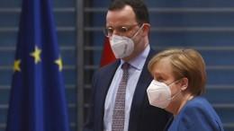 Merkel: Insgesamt haben wir mehr als genug Impfstoff