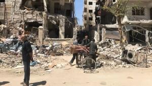 Chemiewaffen-Experten sollen ins syrische Douma reisen