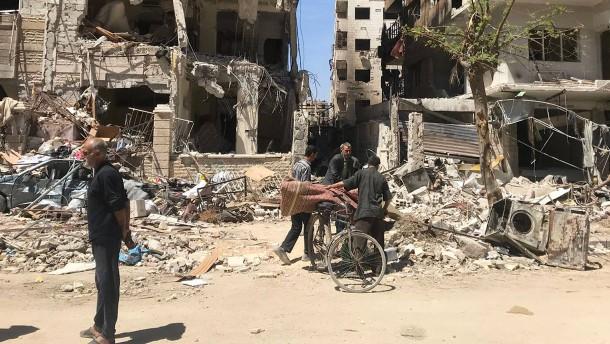 OPCW-Experten sollen Mittwoch nach Douma reisen können