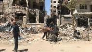 Am 7. April starben bei einem Angriff mit Giftgas in der syrischen Stadt Douma mindestens 42 Menschen – mehrere Hundert wurden verletzt.