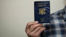 Deutsche Behörden fahnden nach Tausenden syrischen Blanko-Pässen