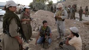 Auch die PKK will Waffen aus Deutschland