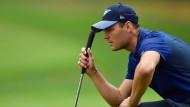 Deutscher Golfer Kaymer in Lauerstelllung