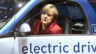 Merkel langfristig für ein Verbot von Verbrennungsmotoren