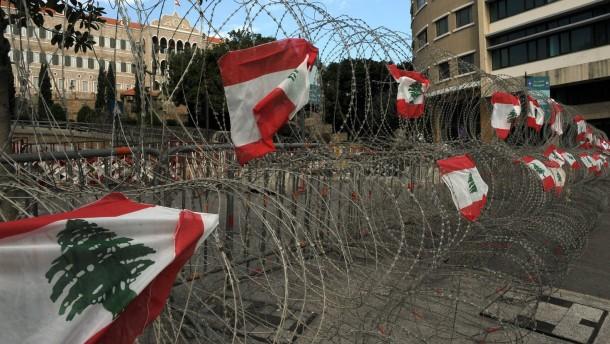 Amerika für Bildung einer neuen Regierung im Libanon