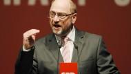 Schulz will keinen Wahlkampf wie in Amerika