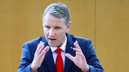 Björn Höcke darf in der AfD bleiben