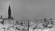 Blick auf das zerstörte Warschau