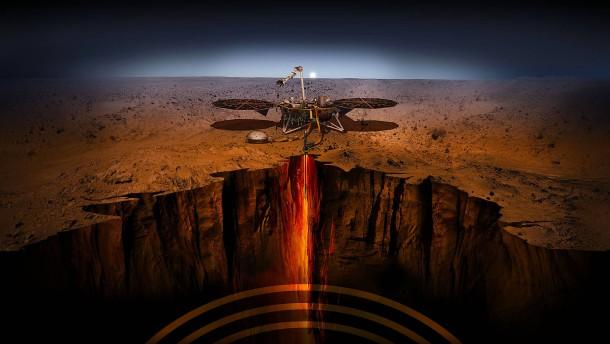 Der Mars jenseits von Oberflächlichkeiten