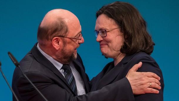 Schulz tritt nicht gegen Nahles an