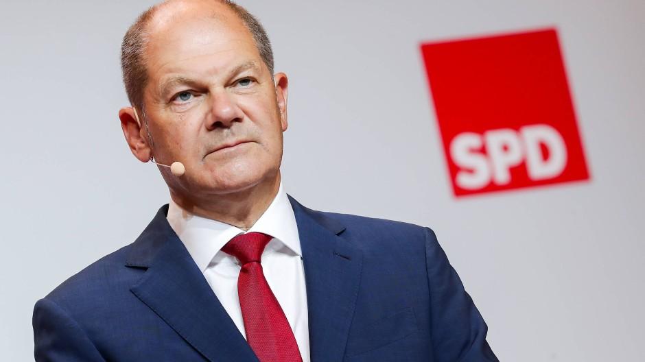 Der neue Kanzlerkandidat Olaf Scholz glaubt nicht, dass die frühzeitige Nominierung die Regierungsarbeit beeinträchtigen könnte.