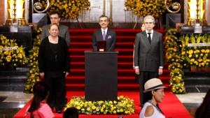 Mexiko trauert im Palast der Schönen Künste